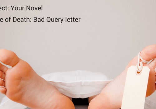 Query Letter Template Infographic